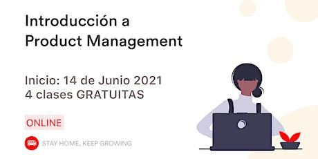 Introducción al Product Management entradas