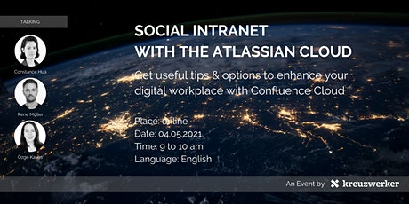 Social Intranet with the Atlassian Cloud tickets