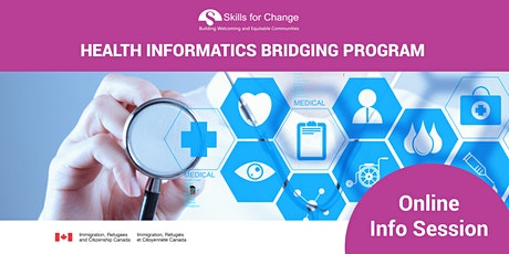 *Online- Health Informatics Bridging Program Information Session bilhetes