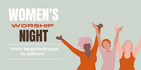 Eastside Women's Worship Night tickets