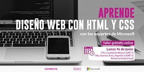 #VentanaDigital - Curso gratuito de HTML y CSS   por Eidos y Microsoft entradas