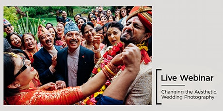 Live Webinar   Changing the Aesthetic, Wedding Photography tickets