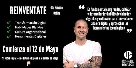 REINVENTATE  - 4ta Edición - Participantes de  Argentina entradas