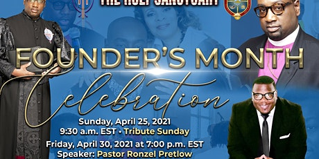 Founders  Month Service with Special Guest Pastor  Ronzel Pretlow tickets