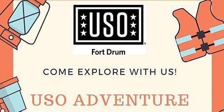 USO Adventure: Single Soldier White Water Rafting tickets