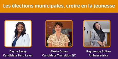 Les élections municipales, croire en la jeunesse billets