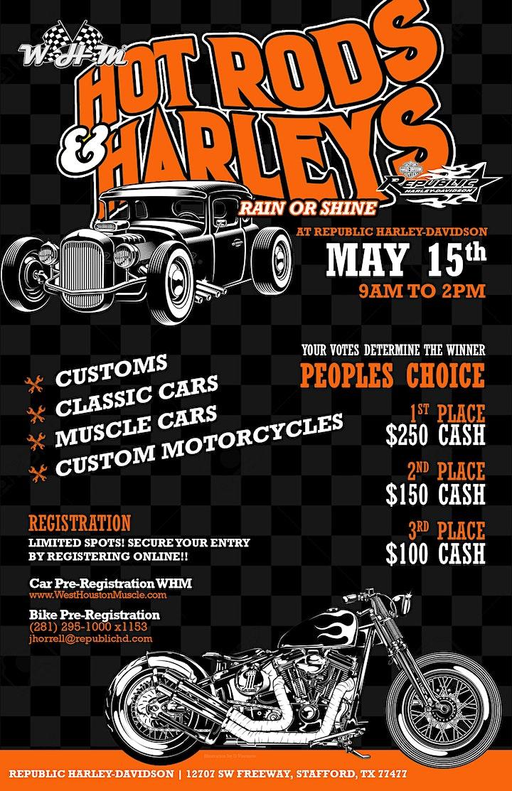 Hot Rods & Harleys Car Show image