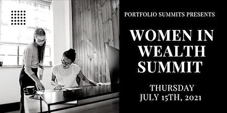 Women in Wealth tickets