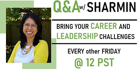 Q&A with an Executive and Career Coach tickets