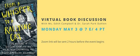 From a Whisper to a Rallying Cry: Virtual Book Discussion tickets