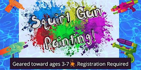 Process Art: Squirt Gun Painting tickets