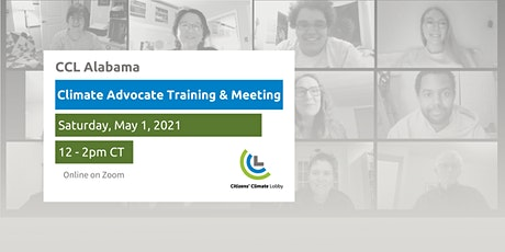 Alabama At-Large Climate Advocate Workshop and Group Meeting tickets