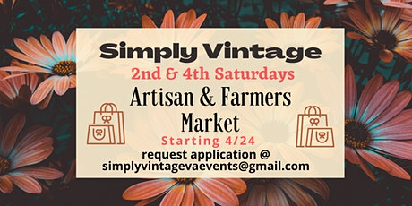 Driver Village Artisan & Farmers Market - 2nd Saturdays tickets