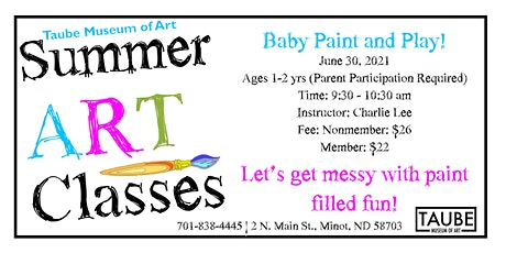 Baby Paint & Play! tickets