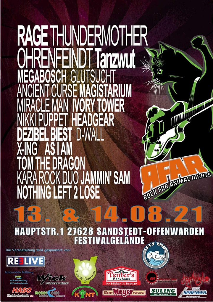 Rock For Animal Rights Open Air 2021: Bild