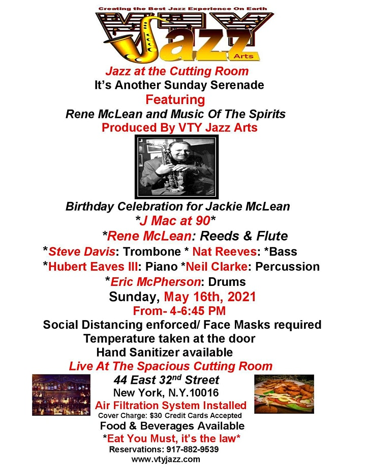 Jazz At The Cutting Room image
