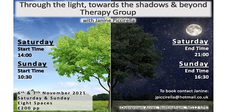 Through the light, towards the shadows and beyond - Group Therapy tickets