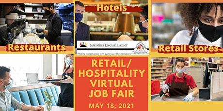 2021Retail/Hospitality Virtual Job Fair  - Jobseeker Registration tickets