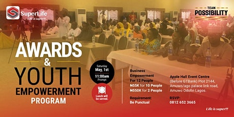 Superlife Possibility Awards & Youth Empowerment Program tickets