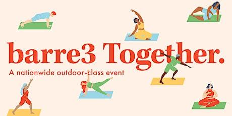 barre3 Together- FREE Outdoor class entradas
