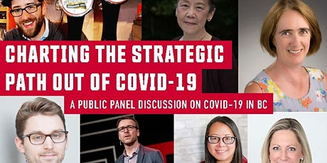 Charting the Strategic Path Out of COVID-19: A Public Panel Discussion tickets