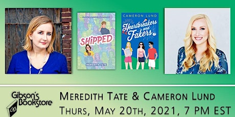 Authors Meredith Tate and Cameron Lund tickets