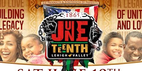 Juneteenth Lehigh Valley tickets