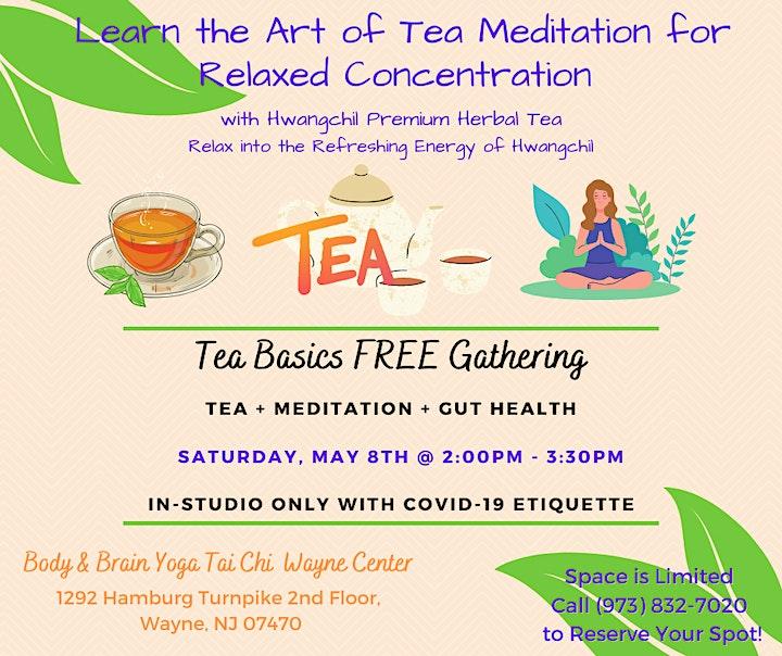 Learn the Art of Tea Meditation - FREE Gathering image