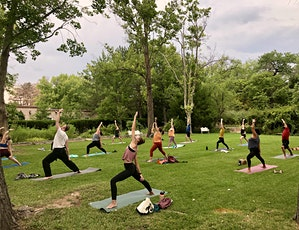 Sandia Sunset - Park Yoga Class with Ashley tickets