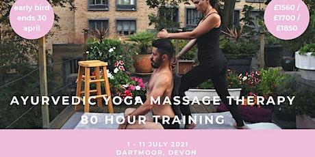 80 hour Ayurvedic Yoga Massage Training tickets