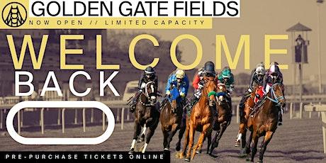 Live Racing at Golden Gate Fields - 5/8 tickets