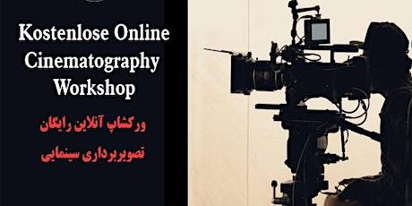 Kostenlose Online Cinematography  Workshop Tickets