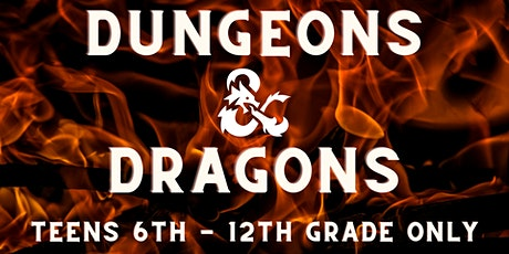 Beginners Dungeons and Dragons [6th-12th Grade Only] tickets