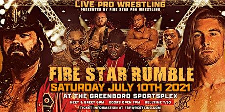Jewels of Wrestling 4 & The Firestar Rumble @ The Greensboro Sportsplex! tickets