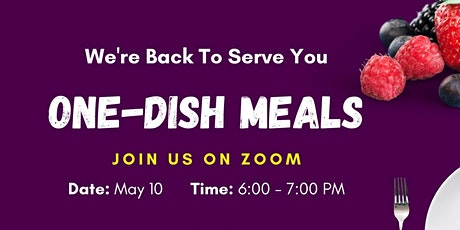 One -Dish Meals tickets
