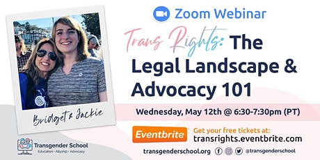 Trans Rights: The Legal Landscape & Advocacy 101 tickets