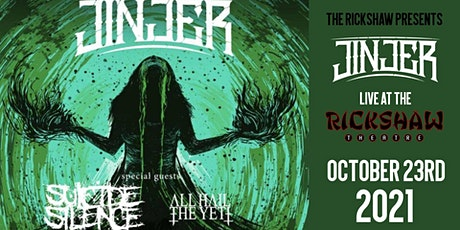 Jinjer with guests Suicide Silence & All Hail The Yeti tickets