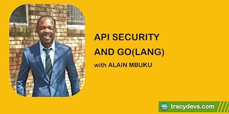 REST, SOAP, GraphQL: API Security and Go(lang) bilhetes