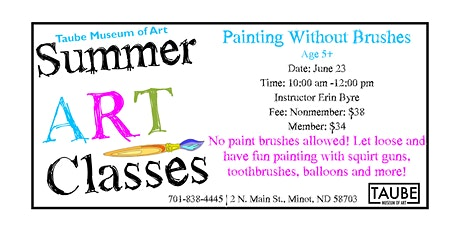 Painting Without Brushes tickets