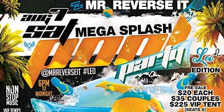 Mr. Reverse It LEO EDITION 'Mega Splash' Pool Part tickets