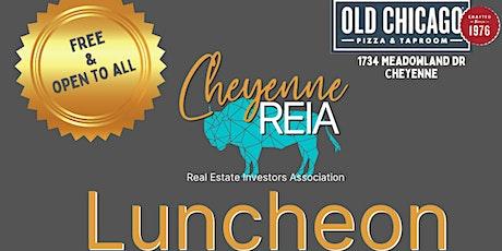 Cheyenne REIA Monthly Luncheon tickets
