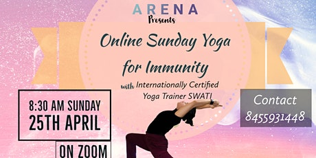 FREE Online Yoga Session for Immunity | 25th April Sunday tickets