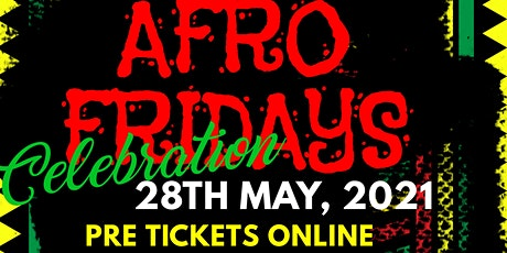 AFRO FRIDAYS tickets