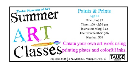 Paints & Prints tickets