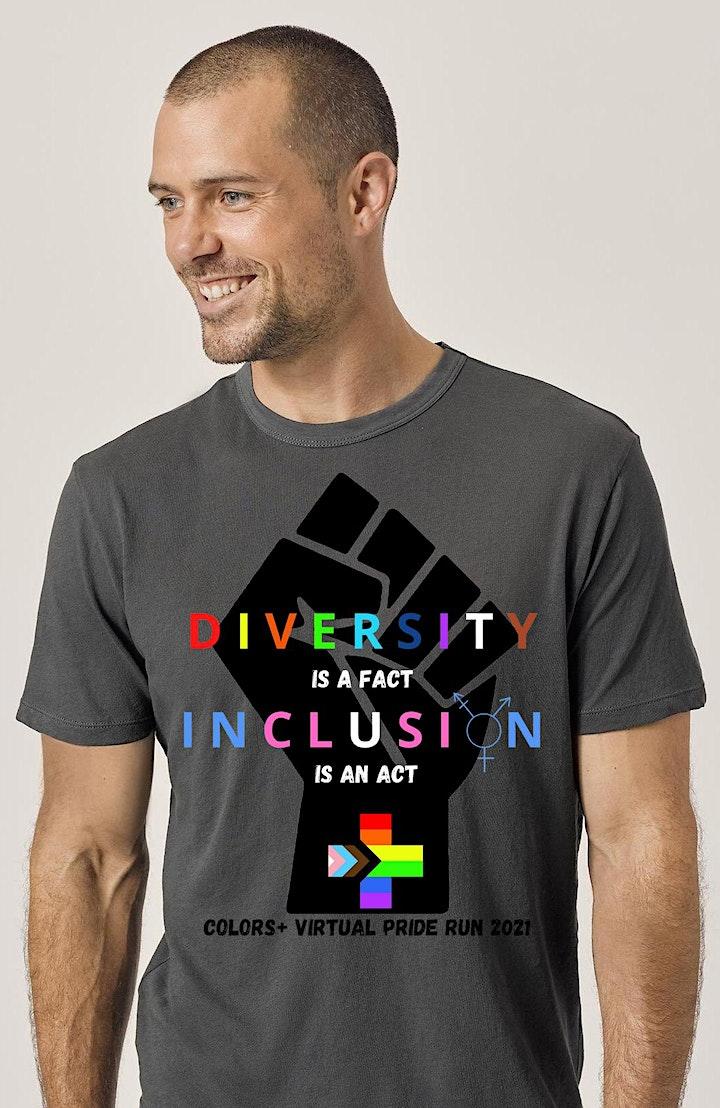 Colors+ Virtual Pride Run/Walk 2021 image