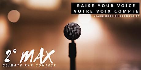 Concours Rap Climatique 2°Max - Session d'Information pour participants[FR] billets