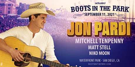 Boots in the Park w/ Jon Pardi, Mitchell Tenpenny, Matt Stell & More boletos
