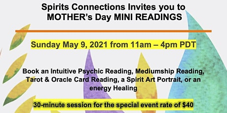 Mother's Day Mini Readings biglietti
