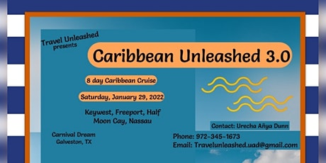 Caribbean Unleashed 3.0 tickets