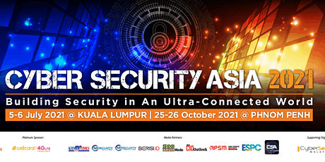 CYBER SECURITY ASIA tickets